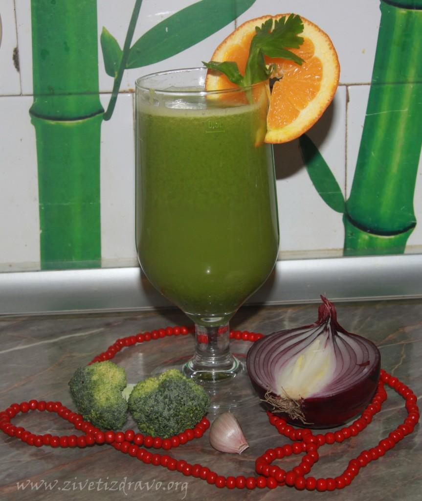 Supa-sok od brokolija