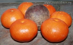 cvekla i mandarine