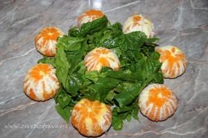 spanac mandarine