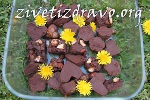 Cokolada sa suvim grozdjem