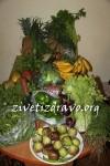 Nedeljni pazar voća i povrća za našu bebu i celu porodicu