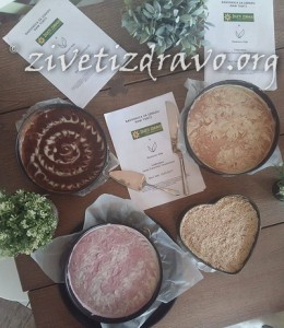 Živeti zdravo torte za Restoran Vida