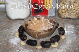 Krem sa kokosom i suvim kajsijama1